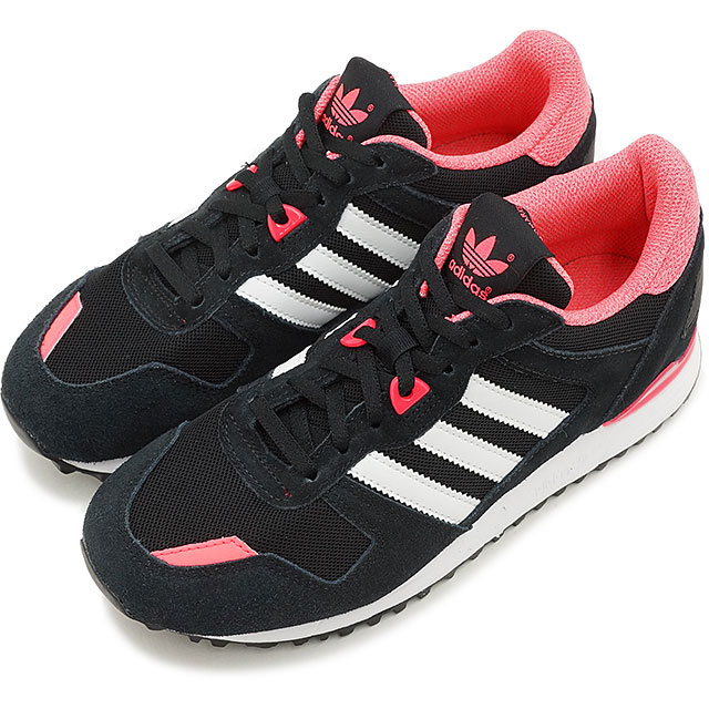 5ea53ecf251d adidas Originals Adidas originals Lady s sneakers ZX 700W Z X 700 women  core black   running white   flash red S15 (M19412 SS15) shoetime