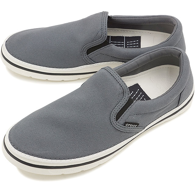 6df5a141b0d022 CROCS clocks men gap Dis crocs norlin slip-on m no phosphorus slip-on men  CHARCOAL WHITE (201