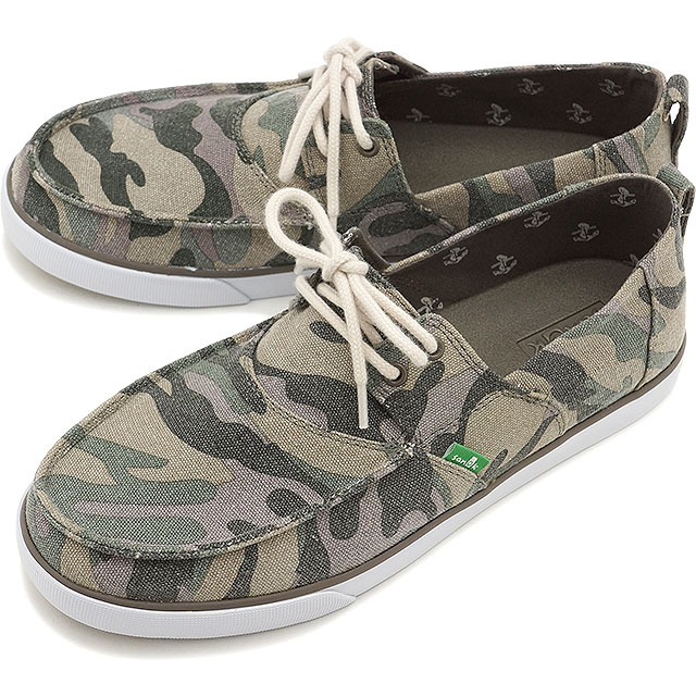 0c1f98b230bcd SHOETIME: Sanuk サヌークメンズ OFFSHORE off shore deck shoes WASHED ...