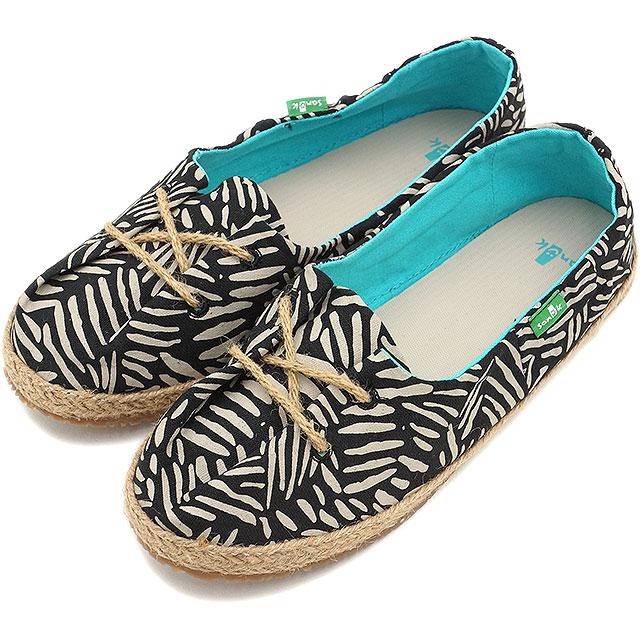 2da32282e23 Sanuk Sanuk Womens sneakers MOCHI mochi lace-up shoes BLACK NATURAL  (SWF10598-BNTR SS15)