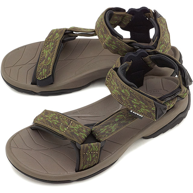 e5a61ba0c46c Teva Teva mens sandal MNS Terra Fi Lite tell fi light Sport Sandals MNS  strap Sandals MNS CERAMIC GREEN (1001473-CCGN SS15)
