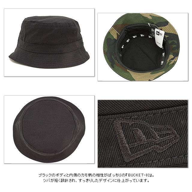 ... shop new era new era hat hats bucket 02 bucket hat blk wmo 11136018  ss15 newera 618f57cda63f