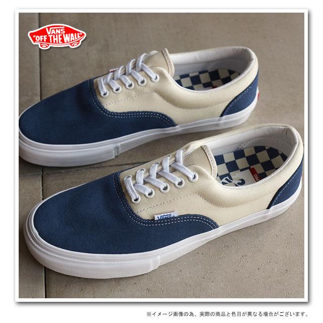 VANS vans sneakers mens Womens ERA PRO Ella Pro BLUE WHITE (VN-0VFBY6Z SS15) 124d2c0ad9