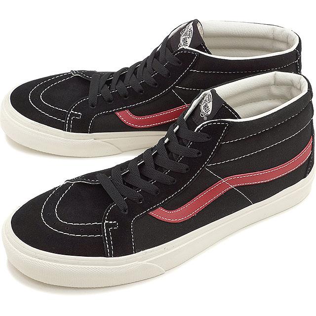 VANS vans sneakers mens Womens CLASSICS SK8-MID REISSUE Skate mid lissieu  (SPORT VINTAGE) BLACK (SS15 VN-0XIIFLO)