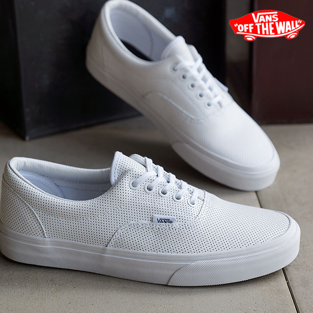 69883b9ba42d79 VANS vans sneakers men gap Dis CLASSICS ERA classical music gills (PERF  LEATHER) TRUE WHITE (VN-018FGZO FW15) shoetime