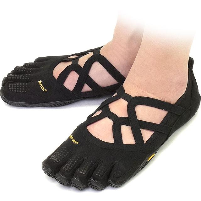 Vibram FiveFingers Vibram five fingers Womens ALITZA LOOP Black Vibram five  fingers five finger shoes barefoot (15W480137) f20445816e