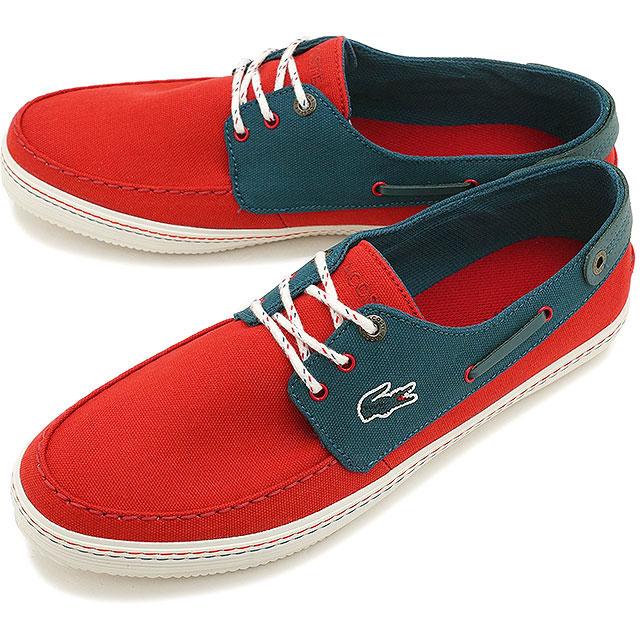 2990e37b3 LACOSTE Lacoste men sneakers deck shoes SUMAC 8 RD DBL (MSF406-SW4 SS15Q2)  shoetime