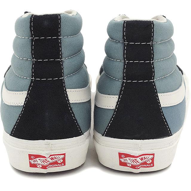 4fae6705a2 VANS vans sneakers mens ladies skating high LX VAULT OG SK8-HI LX  (SUEDE CANVAS) PHANTOM (VN-0OZEFMT SS15)