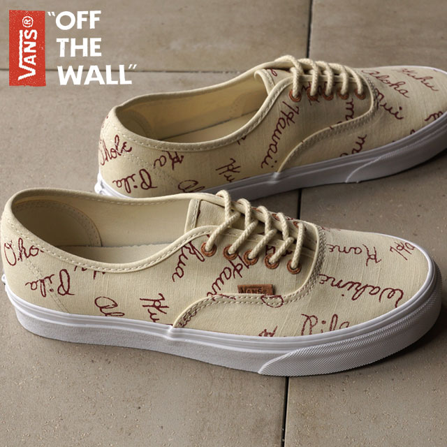 ebc651001b VANS vans sneakers men gap Dis CALIFORNIA AUTHENTIC CA authentic (ISLANDS)  BONE WHITE (VN-0ZUIF62 SS15) shoetime