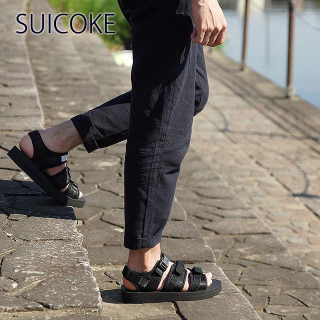 945d28248ff SUICOKE Sui cook men gap Dis strap sandals vibram sole GGA-V black (OG-052V  SS15) shoetime
