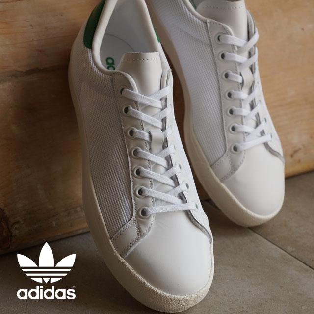 adidas rod laver vintage white