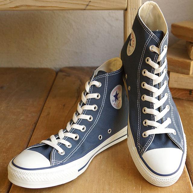 converse all star hi canvas navy