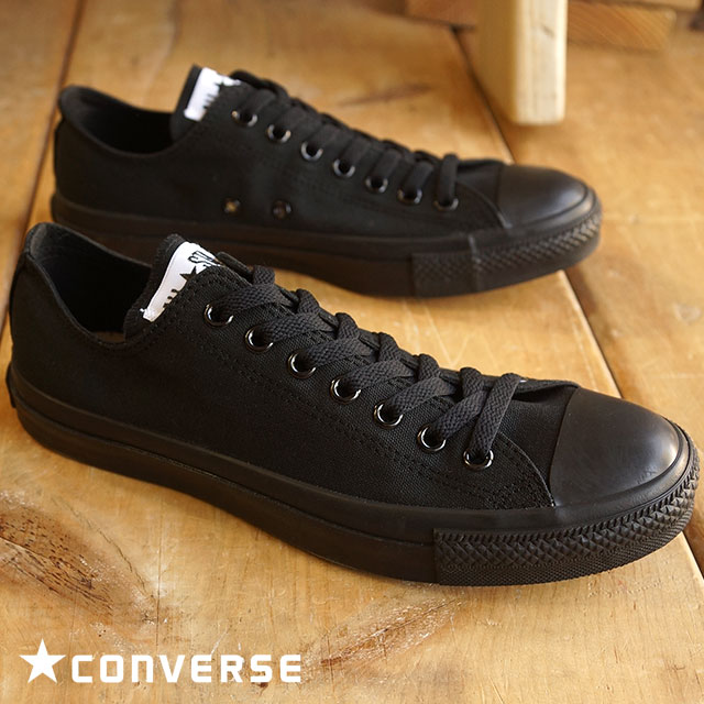 abcd2c7706bbc6 SHOETIME  Converse canvas all-stars low-frequency cut CONVERSE CANVAS ALL  STAR OX black monochrome (32160327) shoetime