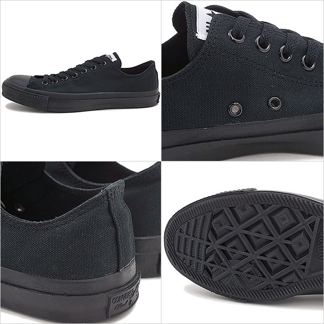 65535bf2c1940c Converse canvas all-stars low-frequency cut CONVERSE CANVAS ALL STAR OX  black monochrome (32160327) shoetime