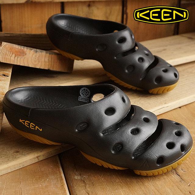 【12/31 14時まで!ポイント10倍】KEEN Yogui MNS キーン サンダル 靴 ヨギ メンズ ブラック(1001966)【コンビニ受取対応商品】