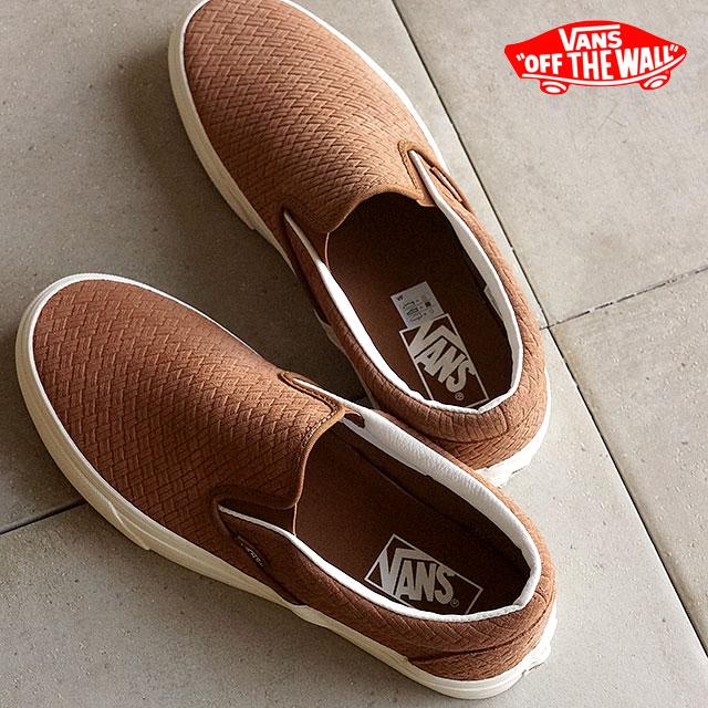 5bbebb5aa3 VANS vans slip-ons sneakers men gap Dis CLASSIC SLIP-ON classical music slip -on (BRAIDED SUEDE) DACHSHUND (VN0003Z4INZ SS16) shoetime