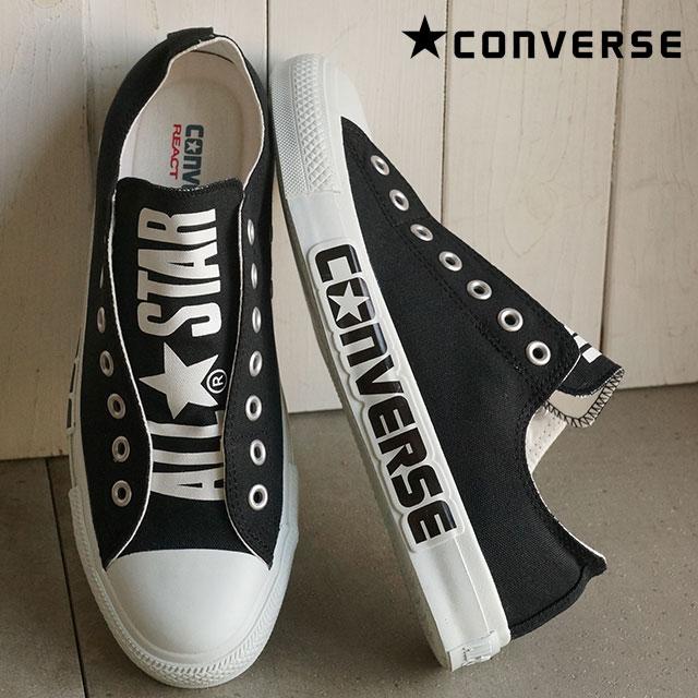6a877fb4b9b3 CONVERSE Converse men gap Dis slip-ons sneakers ALL STAR BIGLOGO R SLIP OX  all-stars big logo R slip low-frequency cut black 32861181 SS16 shoetime