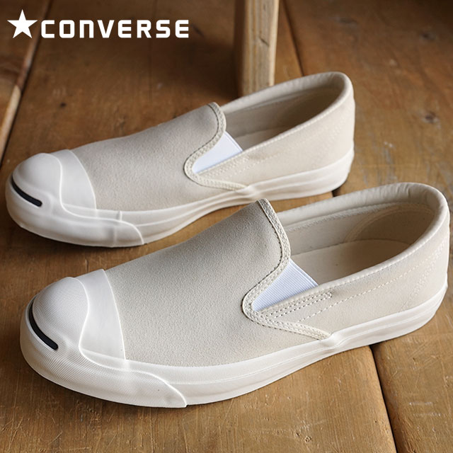 f489854da025 Converse Jack Pursel slip-on suede men gap Dis slip-ons CONVERSE JACK  PURCELL SLIP-ON SUEDE white 32252690 SS16 shoetime
