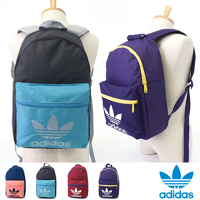 adidas Originals adidas originals Apparel Mens Womens CLASSIC BACKPACK AC  classic trefoil Backpack Rucksack AJ6921 AJ6922 AJ6923 AJ6924 SS16 30bb8589e