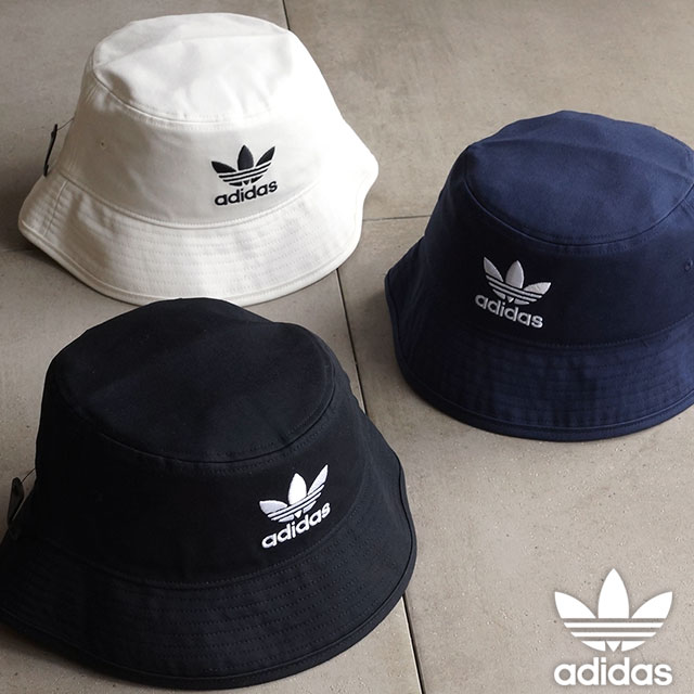 b4a2ac6c0d2 Adidas originals cotton twill bucket Hat core Apparel Mens Womens adidas  Originals BUCKET HAT CORE AJ8995 S94586 S94587