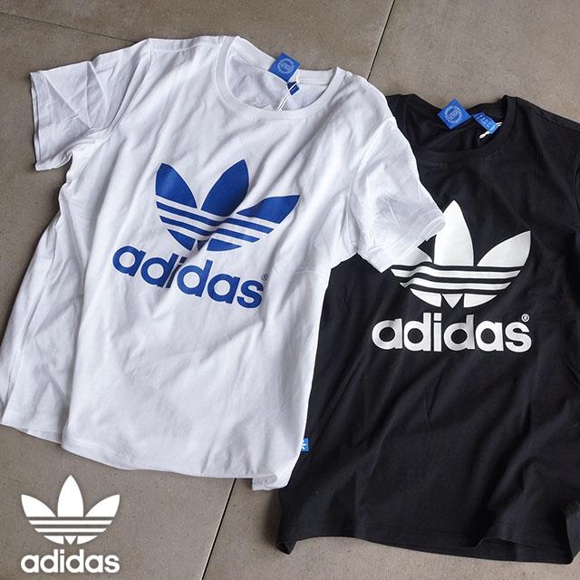 58290b30 adidas Originals adidas originals apparel Womens BOYFRIEND TREFOIL TEE  boyfriend trefoil T shirt AJ8349/AJ8351 ...