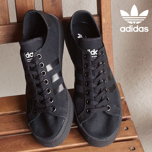 adidas court vantage womens black