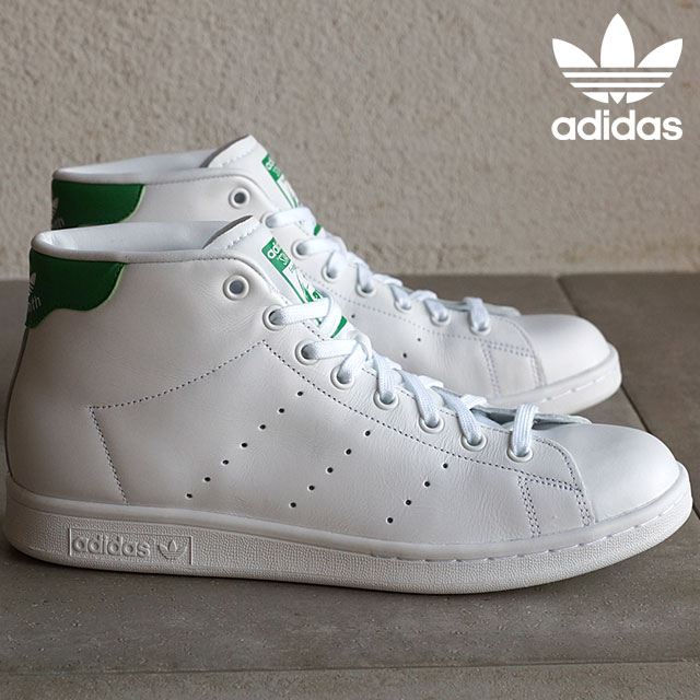 adidas Originals adidas originals sneakers mens Womens STAN SMITH MID Stan Smith mid running white running white green S75028 SS16