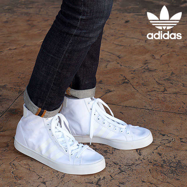 check out a6011 82430 Adidas originals coat Vantage mid mens Womens adidas Originals CourtVantage  MID running white  core black  running white S78791 SS16