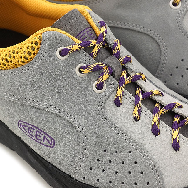 KEEN基恩女士运动鞋山间途步鞋Jasper Rocks WOMEN碧玉液体氧Glacier Gray/Wild Dove(1014883 SS16)