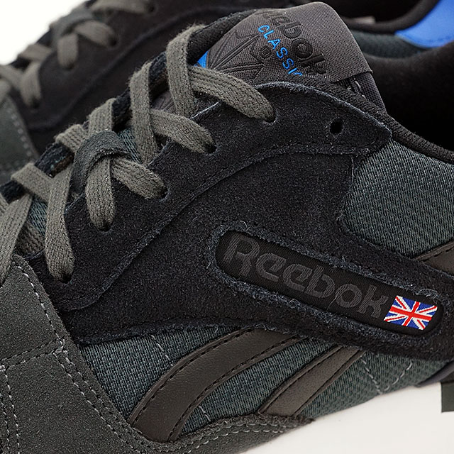 a266f52bbe7 Reebok classics men s women s sneakers GL6000 athletic Reebok CLASSIC GL  6000 ATHLETIC gravel   black   blue sports     white (V67463 SS16)