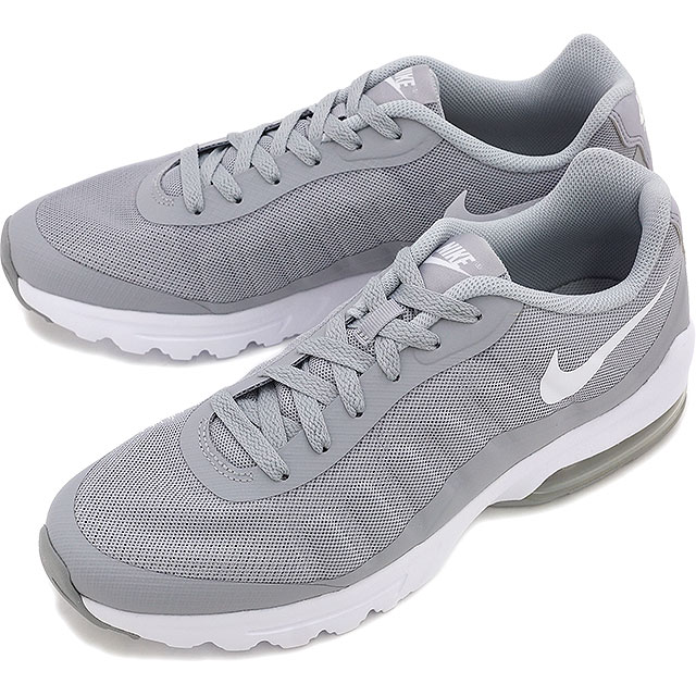 NIKE Mens sneakers Air Max in bigger NIKE AIR MAX INVIGOR Wolf grey bolt black cool grey (749680 011 SS16)