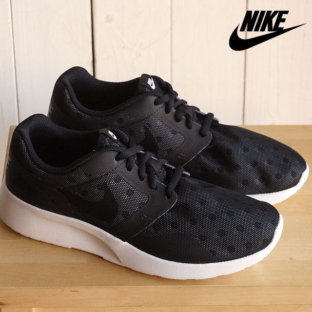 reputable site 2d534 cdae9 ナイキレディーススニーカーウィメンズカイシプリント NIKE WMNS KAISHI PRINT black   black   white    wolf gray (705,374-002 SS16) shoetime