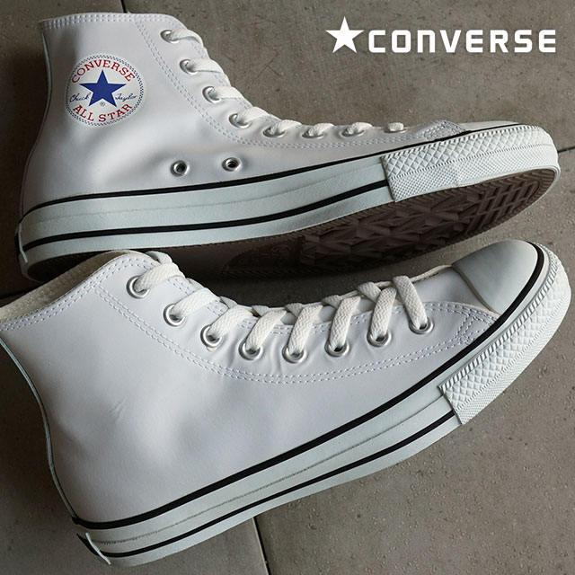 2dd6645e4ee7f0 Converse leather all star high cut CONVERSE LEA ALL STAR HI white (32044990)