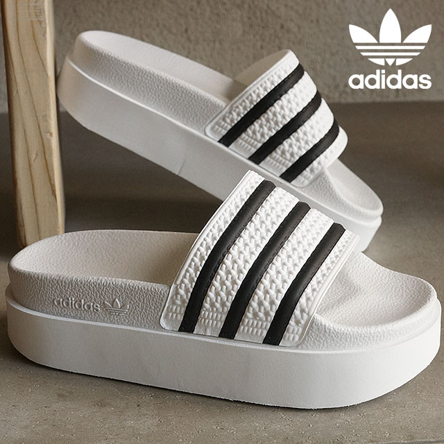 Adidas originals adiliette bald women s shower Sandals adidas Originals  ADILETTE BD W running white   running white   core black S75214 SS16 923069ae9