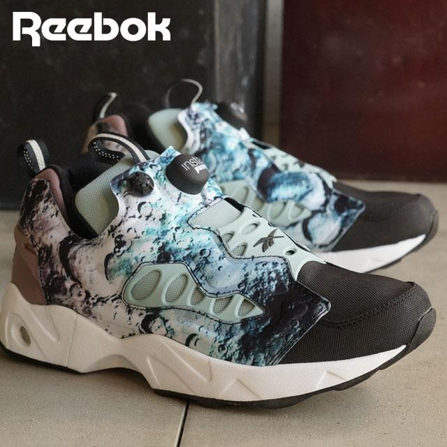 1a255d8225d Reebok classics men s women s sneaker instapompfury road SG Reebok CLASSIC INSTAPUMP  FURY ROAD SG BLACK WINTER SAGE SANDY TAUPE WHITE (V68798 SS16)