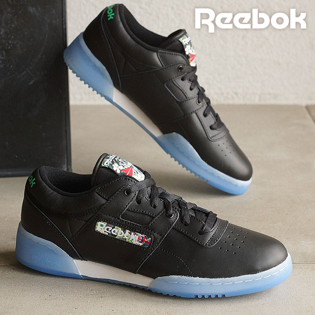 Reebok classical music men gap Dis sneakers practice game roque Lean SF  Reebok CLASSIC WORKOUT LO CLEAN SF black   white   white   ice (V67877  SS16) ... 96dc94a8e