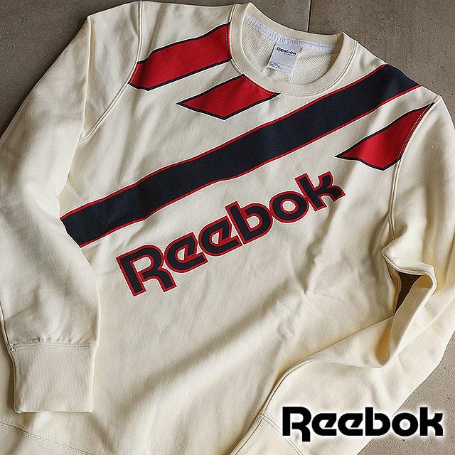 f8c44682d1916 Reebok classics men s vintage crew sweat coat heritage CC retro crewneck  sweet Reebok CLASSIC CC RETRO CREWNECK CREAM WHITE (AK1192 SS16)