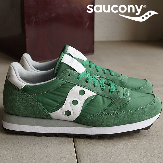 5d719852dcf1 サッカニーメンズレディーススニーカー shoes jazz original Saucony ORIGINAL JAZZ ORIGINAL GREEN  (S2044-353 SS16)