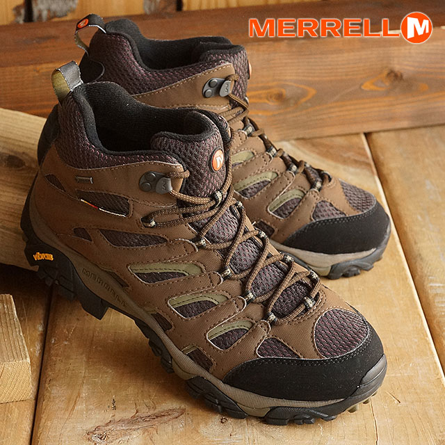 4686f737cb6 Merrell Moab mid Gore-Tex widow is MERRELL mens MNS Moab Mid GORE-TEX Wide  Width Dark Earth (87701 W SS16)