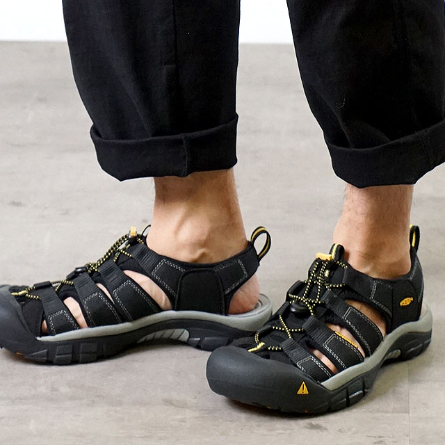 【サイズ交換無料】キーン ニューポート H2 ブラック サンダル 靴 KEEN Newport H2 (1001907)【コンビニ受取対応商品】