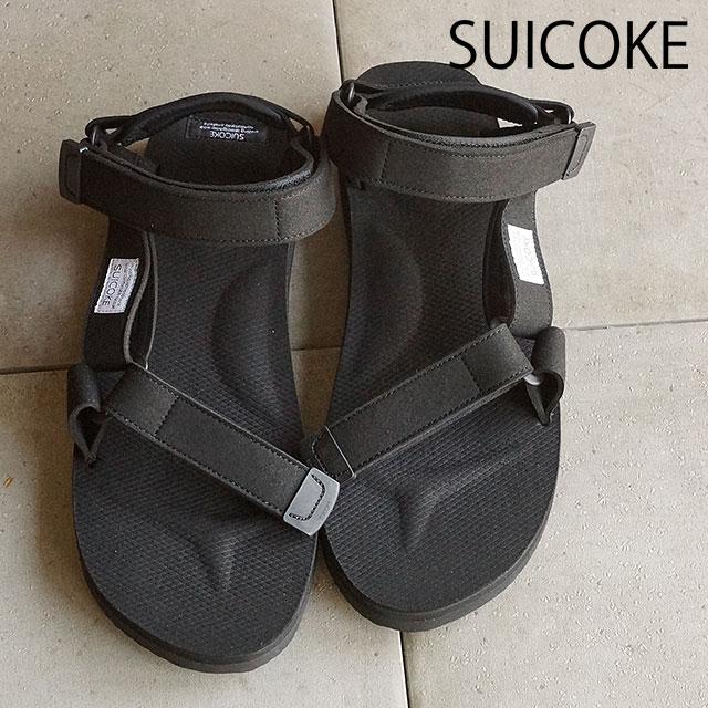 e97667932158 SUICOKE Sui cook men gap Dis strap sandals vibram sole DEPA-ecs black  (OG-022A SS16) shoetime