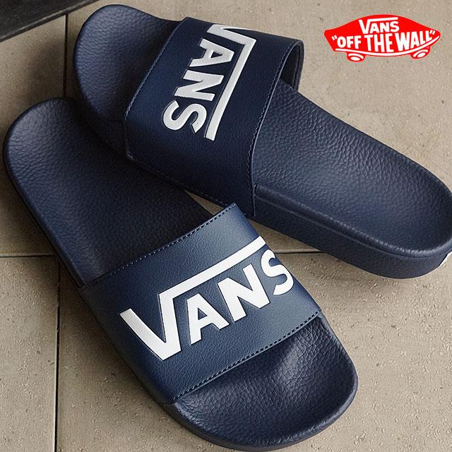c7f4a7eb352a VANS vans shower Sandals mens ladies SURF SLIDE-ON disconnection (VANS)  DRESS BLUES (VN0004KIIX8 SS16)