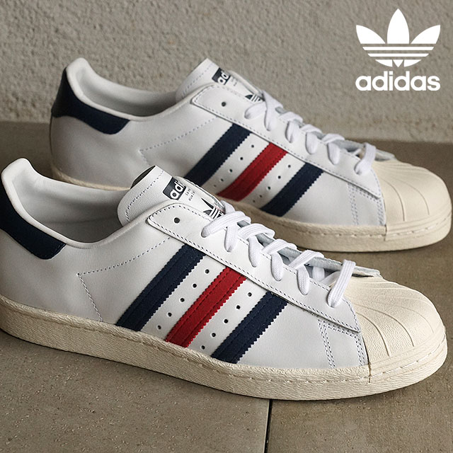 buy popular 40fb2 f58a6 Adidas originals superstar 80s adidas Originals SUPERSTAR 80s running white  / college navy / chalk white men gap Dis AQ4654 SS16 shoetime