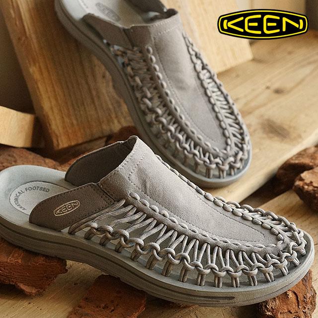 KEEN キーン メンズ サンダル 靴 UNEEK SLIDE MEN ユニーク スライド Gargoyle/Neutral Gray (1014627 SS16)【ts】【e】