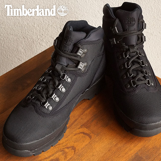 45fc825f63f Timberland men's boots mid fabric binding Timberland EURO HIKER Mid Fabric  Binding Black [A1373 SS16]