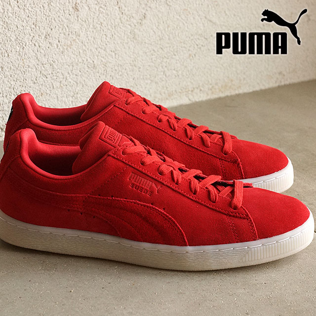 8b1e8c6907d PUMA men s women s sneaker Swede classic colored PUMA SUEDE CLASSIC Colored  high risk red   black (360850-02 SS16)