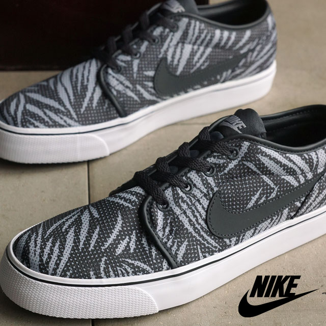 db5263da9c2d NIKE Mens slip-on sneakers Toki LOW TXT print NIKE TOKI LOW TXT PRINT  anthracite   anthracite   Wolf grey   white (631697-004 SS16)