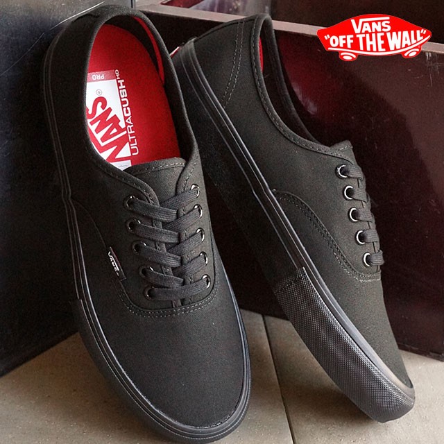 Vans men gap Dis skating shoes sneakers authentic professional VANS  AUTHENTIC PRO BLACK BLACK (VN000Q0DBKA SS16) shoetime 199f0d6a8