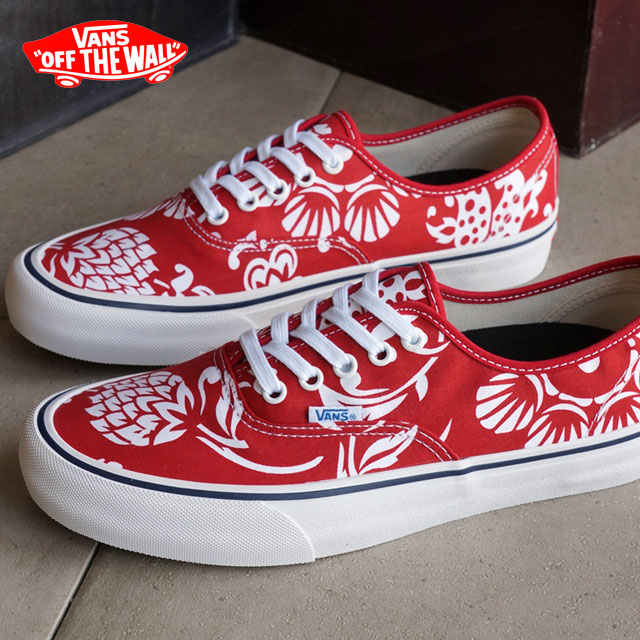 e0bf192b0af1 Vans men gap Dis skating shoes sneakers authentic professional VANS  AUTHENTIC PRO (50TH) 66 DUKE RED WHITE (VN000Q0DJ6L SS16)