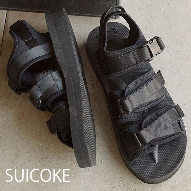 74b21f3ea8f suicoke sicock mens Womens Vibram sole Sandals SUICOKE GGA-V BLACK (OG-052 V  SS16)